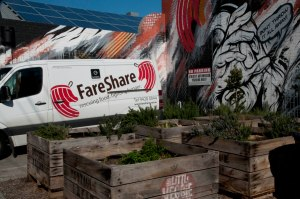FareShare van adjusted